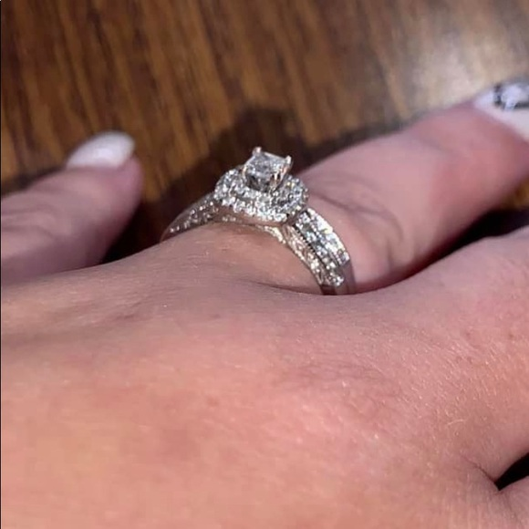 Jewelry Wedding Set Engagement Ring And Band Included Poshmark